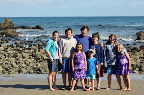 Family Photo Leo Carillo WEB