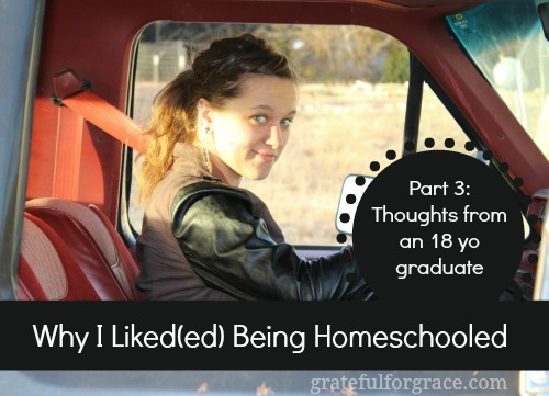 Why I Liked Being Homeschooled Thoughts from an 18yo graduate